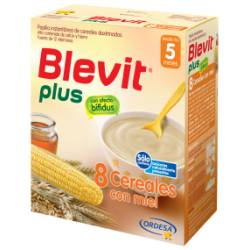 BLEVIT PLUS 8 CEREALES/MIEL 700 GR