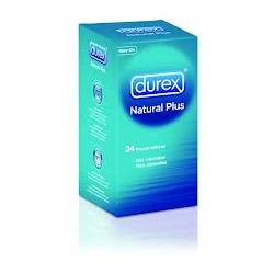 DUREX NATURAL PLUS EASY ON 24U.