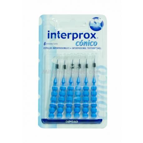 INTERPROX CONICO BLISTER 6 UND