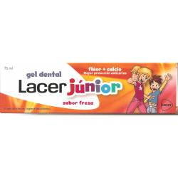 Lacer Junior fresa pasta 75 ml + colutorio 100 ml. PROMOCION ESPECIAL