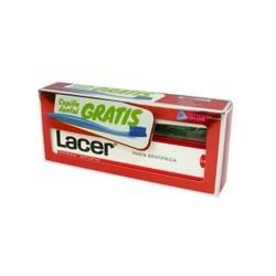 Lacer Pasta con Fluor 125 ml + Cepillo. PROMOCION ESPECIAL