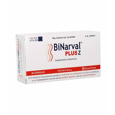 BINARVAL PLUS 60 CAPS